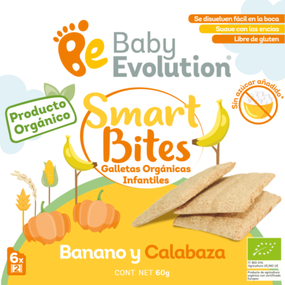 Galletas Smart Bites Tabla Nutricional