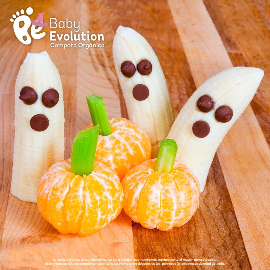 5 recetas saludables para Halloween que darás sin remordimiento - 1 Bananas fantasma