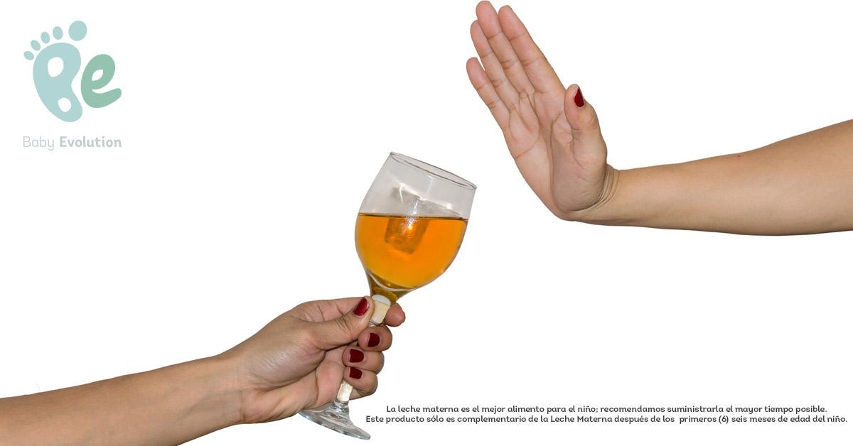 Verdades sobre el alcohol, el embarazo y la lactancia materna - Decir no