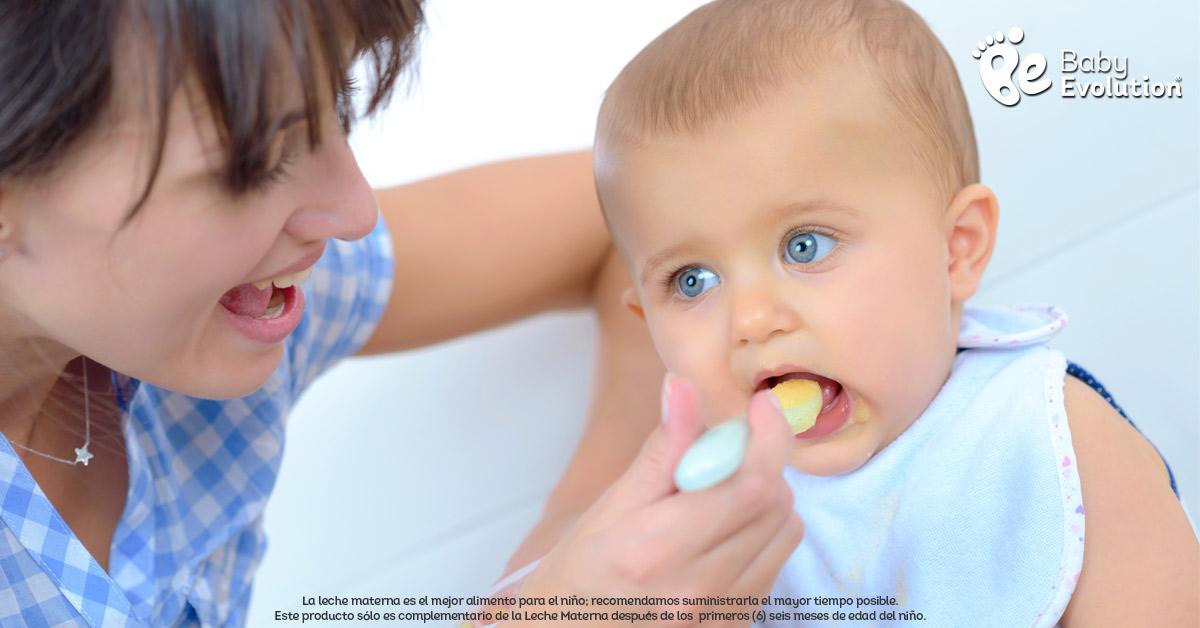 Previene alergias al inicio de la alimentación complementaria