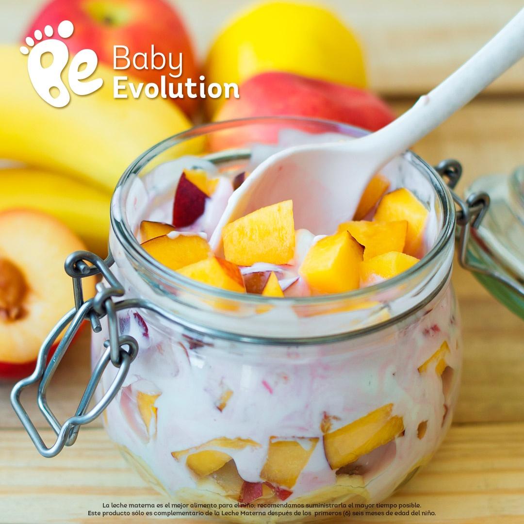Recetas para niños saludables - Ensalada de frutas + yogur natural