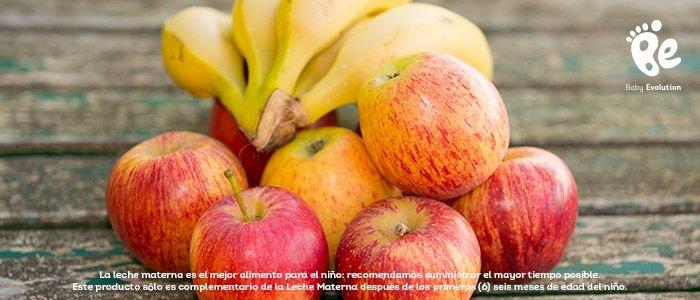 Cantidad de fruta-Las primeras frutas en bebés de 6 meses - Cantidad de fruta