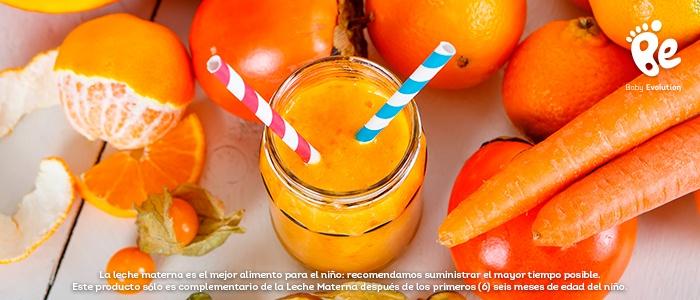 5 batidos saludables y deliciosos para una tarde soleada - Batido de zanahoria y naranja
