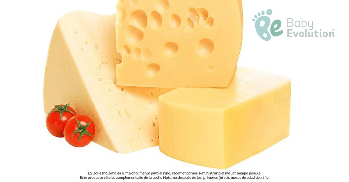 Algunos quesos - los probióticos en la nutrición infantil