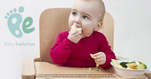 Estimula la motricidad fina durante la alimentación complementaria - Agarrandocomida