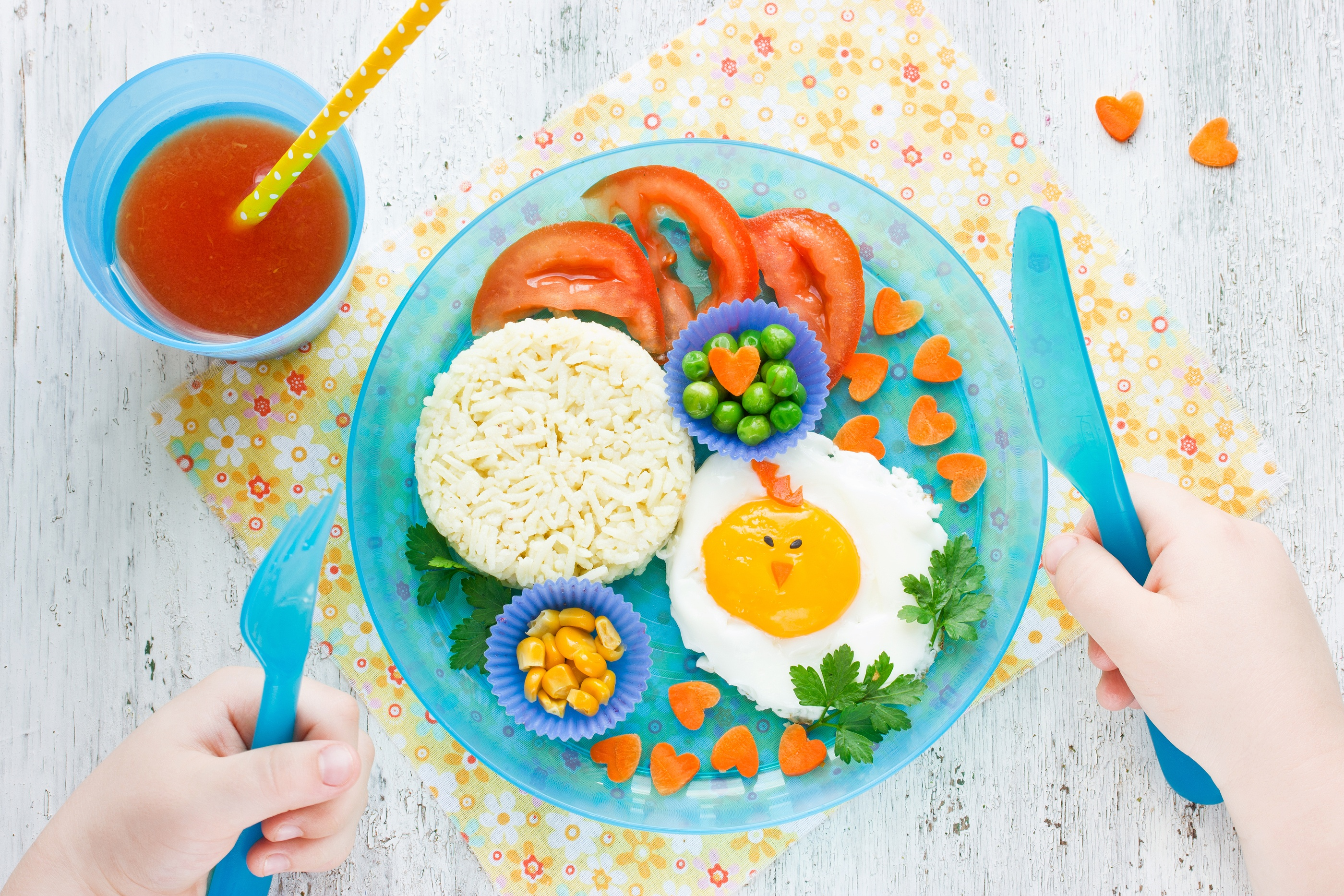 Curiosidades de los alimentos para ninos