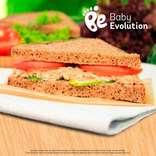 Recetas para niños saludables - Sánduche de pan integral + queso libre de grasa + manzana verde
