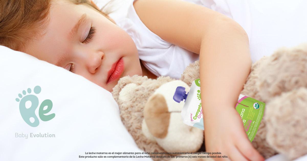 Qué alimentos saludables necesita un niño antes de dormir