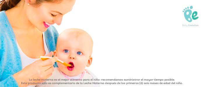 Las primeras frutas en bebés de 6 meses