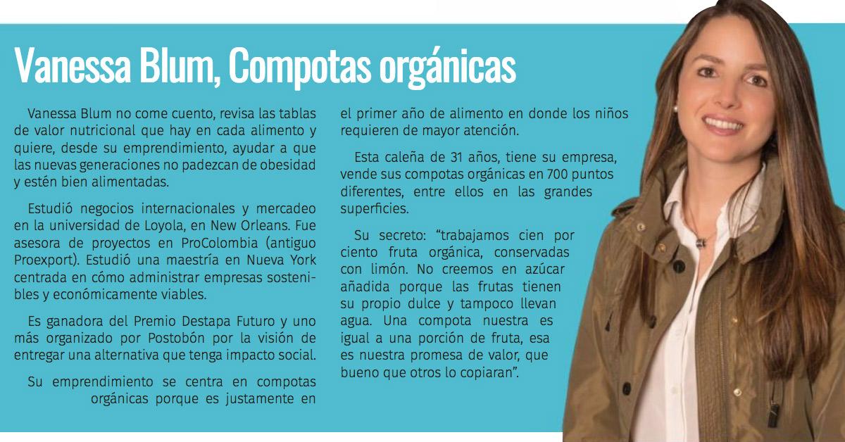 Vanessa Blum entrevista 100 lideres Valle del Cauca