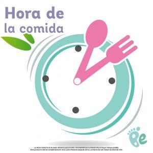 hora de la comida ninos hijos bebes alimentacion