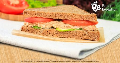 Menú saludable para niños - Sándwiches de atún y verduras