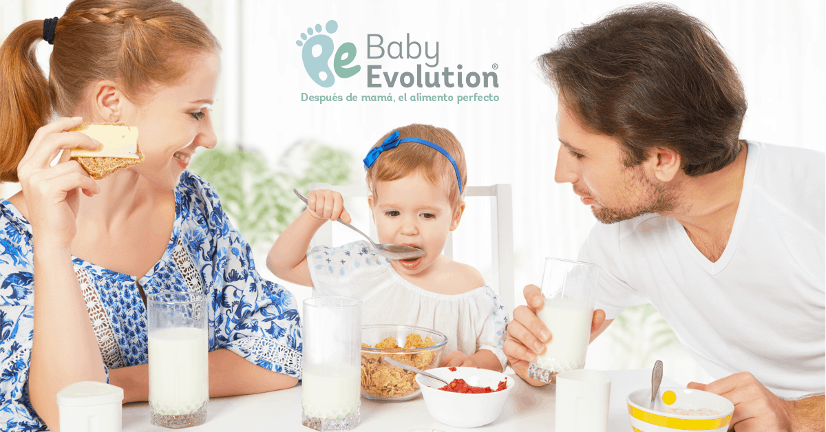 baby evolution desayunos saludables
