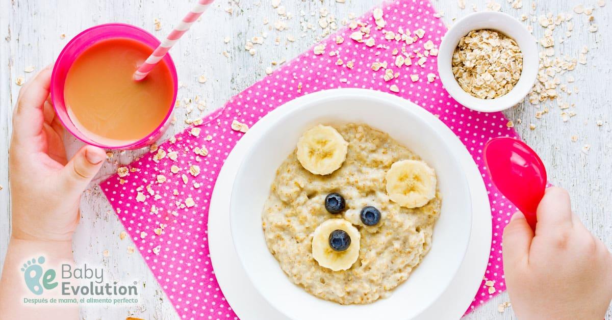 Importancia de la comida Saludable Para Niños - Desayuno Saludable
