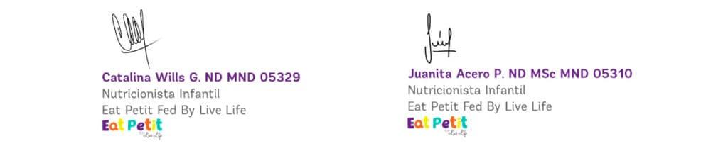 firma nutricionistas