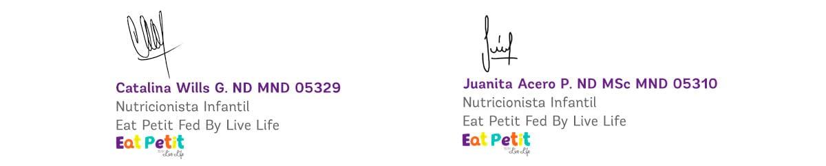 Firma Nutricionistas Eat Petit