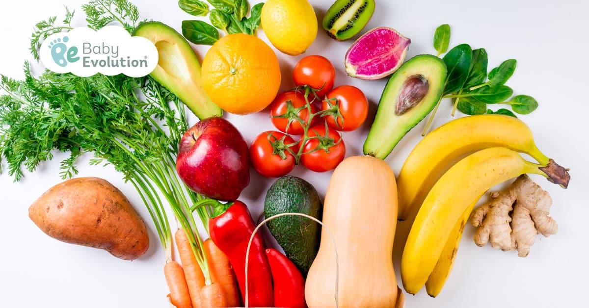 ¿Qué pasa con los vegetales y las frutas?