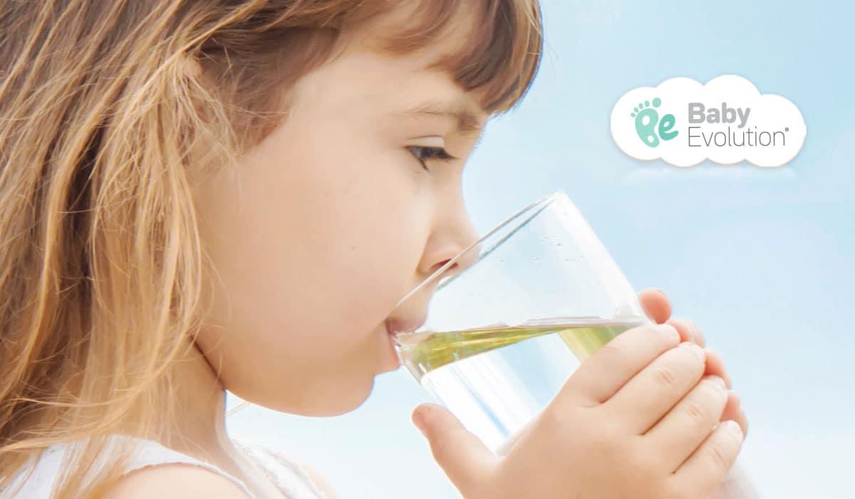 Agua: Cuándo y cómo ofrecerla para favorecer su consumo