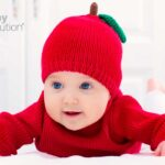 bebe-disfrazado-de-manzana