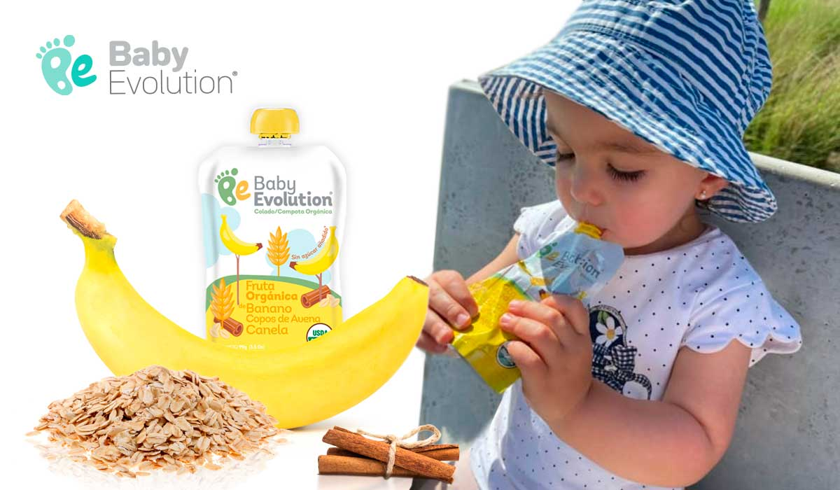Compotas Baby Evolution Sin azucar añadido