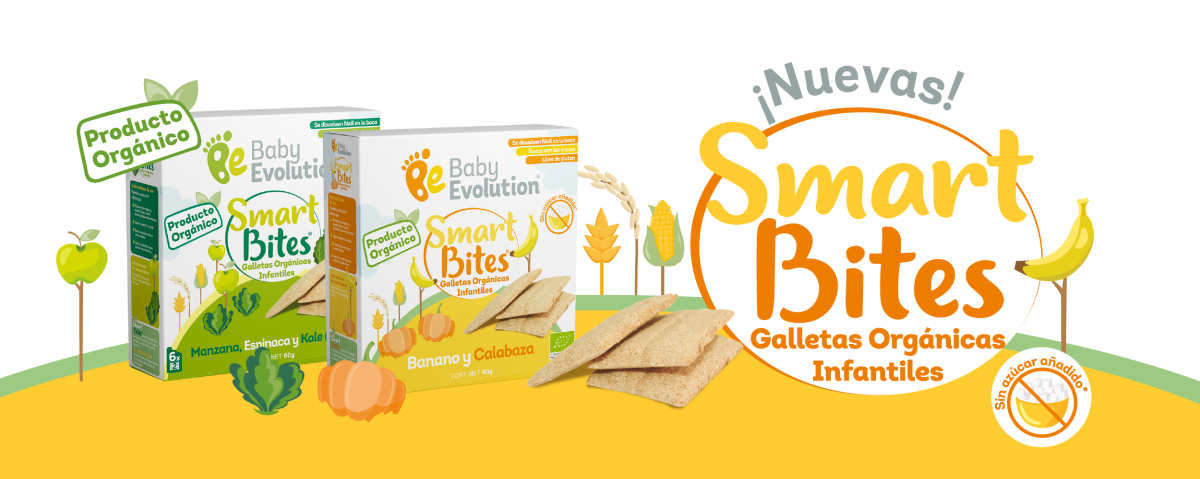Baby Evolution Galletas Smart Bites